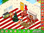 click to play my xmas room - Decorating House Games