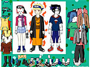 Naruto Character Dressup Icon