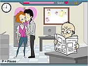 Click to Play Office Love Birds