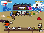 Click to Play Hiroshi &amp; David - Shooting Onigiri