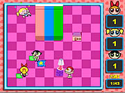 Click to Play Powerpuff Girls - Pillow Fight