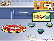 Click to Play Cooking Show - Pizza
