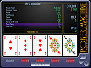 Click to Play Poker Machine