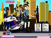 Click to Play Police Woman Dressup