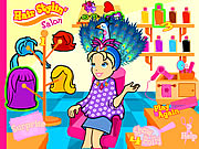 Click to Play Polly's Hair Stylin' Salon