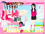 Click to Play Pretty in Pink Dress Up