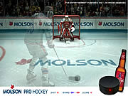 Click to Play Molson Pro Hockey