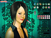 Click to Play Rihanna Makeup Game