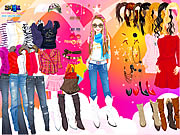 Click to Play Rock Style Dress Up