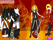 Click to Play Rock Style Girl