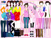 Click to Play Selma Pink Dress Up