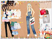 Click to Play Shopping Girl 4 Dress Up