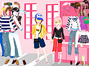 Click to Play Shopping In Love Dress Up