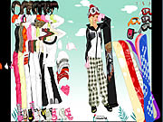 Click to Play Snow Dress Up