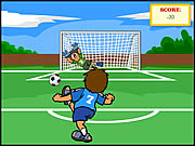 Click to Play Soccer Challenge