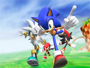 Click to Play Sonic Rivals Dash