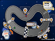 Click to Play Space Race