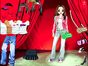 Click to Play Stage Girl Dress Up