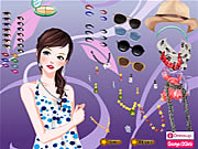 Click to Play Summer Star Dressup