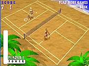 Click to Play Beach Tennis