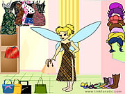 Click to Play Tinkerbell Dress up 3
