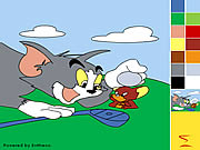 Click to Play Tom and Jerry Painting