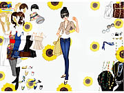 Click to Play Top and Jeans Dress Up