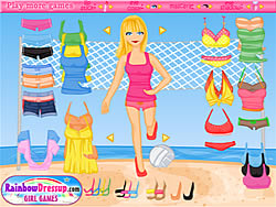 Click to Play Volleyball Dressup