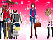 Click to Play Winter Basics Dress Up