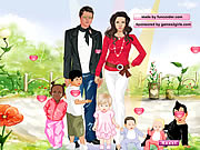 Click to Play Angelina and Brad Dressup