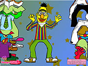 Click to Play Big Bert Dressup