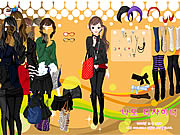 Click to Play Black Skirts Dressup