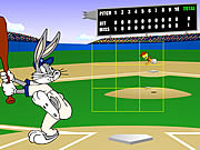 Click to Play Bugs Bunny Home Run Derby