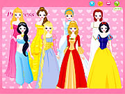 Click to Play Disney Princess Dress up