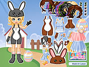 Click to Play Dressup Easter Bunny