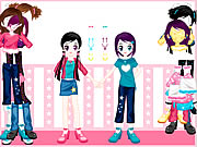 Click to Play Dressup Twins
