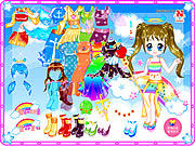 Click to Play Florine Doll Dressup