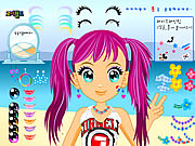 Click to Play Happy Beach Make up