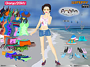 Click to Play Helen Bikini Dressup Game