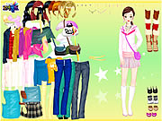 Click to Play Johana Dressup