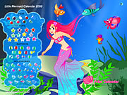 Click to Play Little Mermaid Calendar 2008