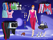 Click to Play Nike Apparel Dressup