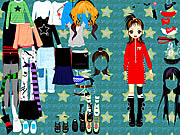 Click to Play Party Doll Dressup