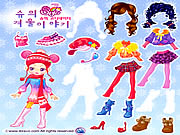Click to Play Sue Winter Dress up