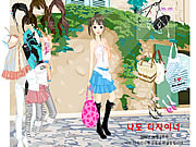 Click to Play Summer Street Dressup