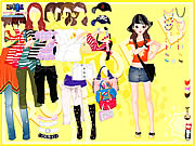 Click to Play Yellow Casual Dress Up