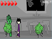 Click to Play Attack of the Zombic Vegie